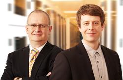 Jürgen Schüssler und Christian Hahn, Geschäftsführer Wice GmbH