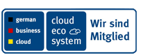 Mitglied Cloud Ecosystem und German Businesscloud